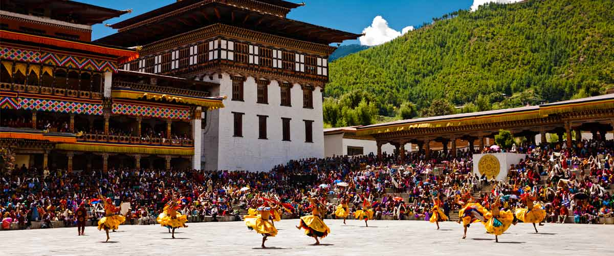 Bhutan Thimphu Festival